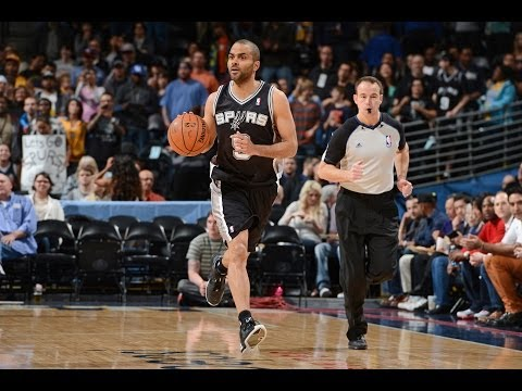 Tony Parker Running the Show for the Spurs