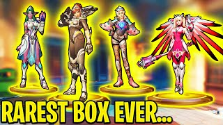 The Rarest Lootbox EVER..! - Lu¢ky Clips & 0.001% Plays - Overwatch Moments Montage