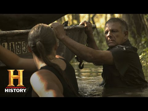 The Return of Shelby the Swamp Man: Venturing Into Gator Territory (S1, E3) | History