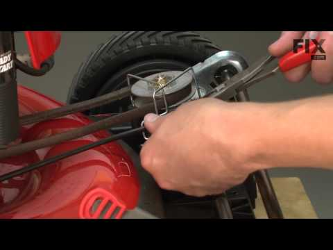 Troy-Bilt Lawn Mower Repair – How to replace the Drive Cable