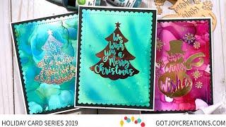 Gambar cover Got Joy Creations Holiday Card Series 2019 Guest Carisa Zglobicki