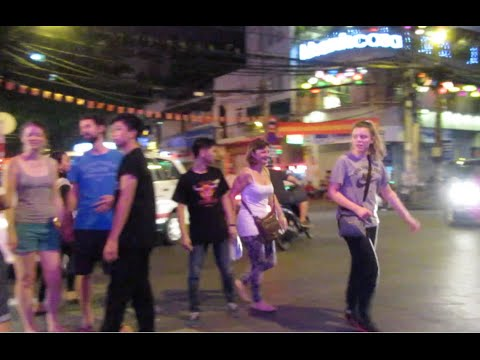Nightlife at Saigon City
