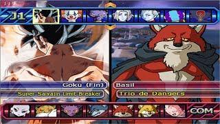 Dragon Ball Z Budokai Tenkaichi 3 - Goku  Nueva Transformation ? VS Trio de Dangers - PS2 MOD