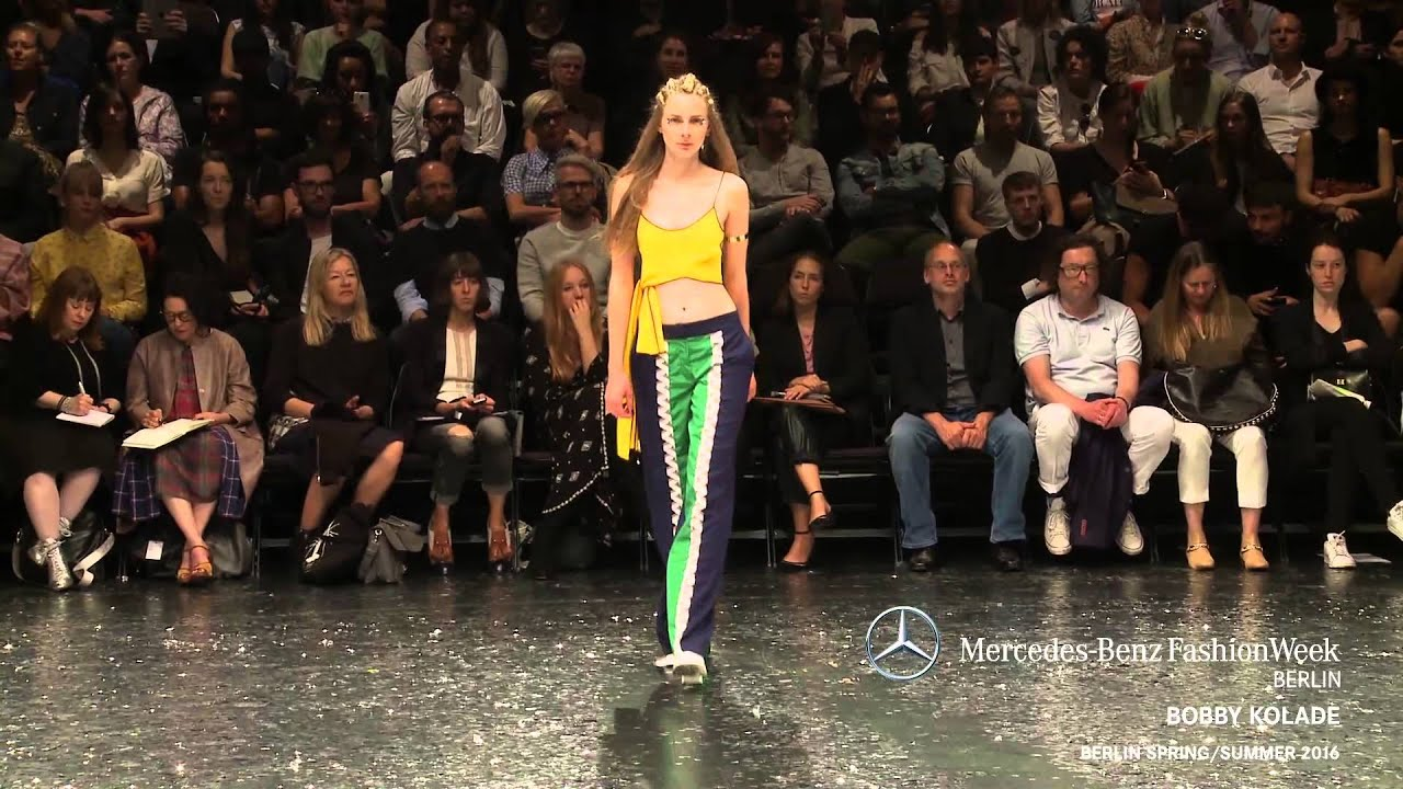 Bobby Kolade Mercedes Benz Fashion Week Berlin Ss2016 Youtube