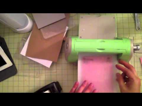 Create your own embossing folder diffuser