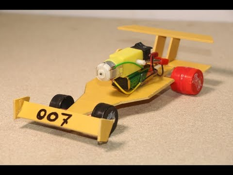 How to make Recycled Car toy - Powered Car Very Simple