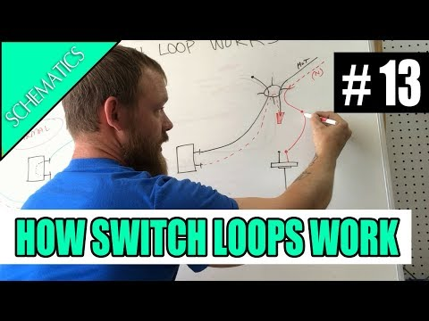 Switch Loop Wiring Diagram 2000 Chevy Silverado 1500 Stereo How To Wire A Light The Leg Drop Youtube 9 52