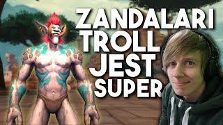 Zandalari Troll na ALPHA Battle for Azeroth!