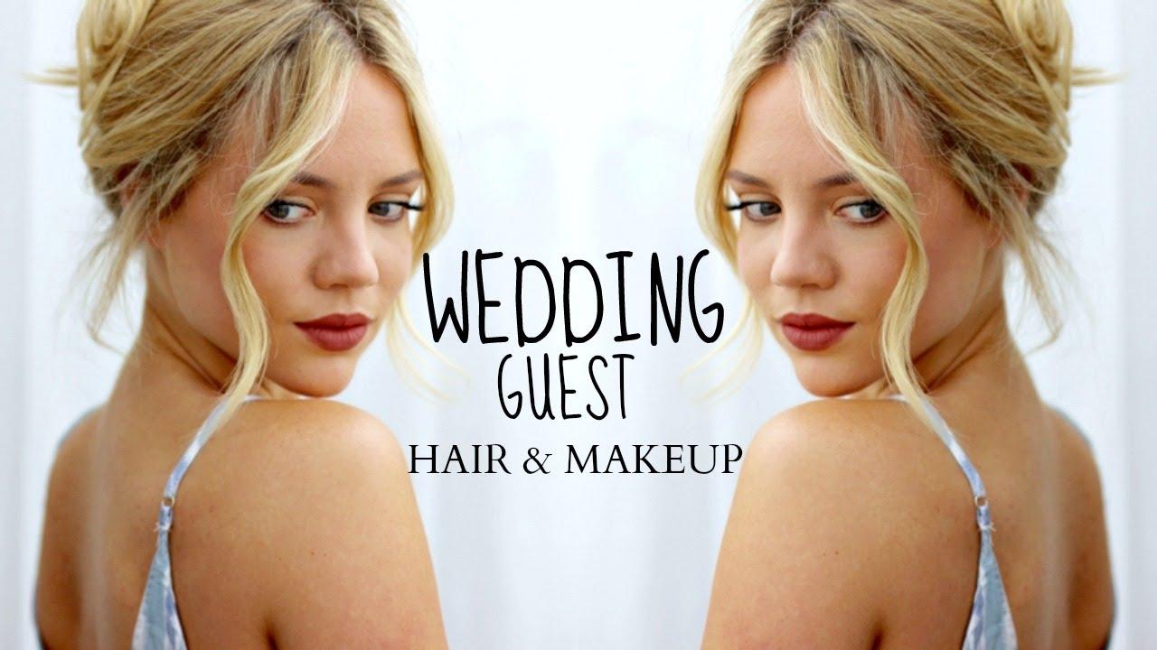 HAIR & MAKEUP FOR GOING TO A WEDDING || Elanna Pecherle - YouTube