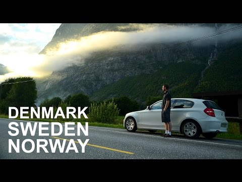 [HD] Road Trip Denmark Sweden & Norway 2012