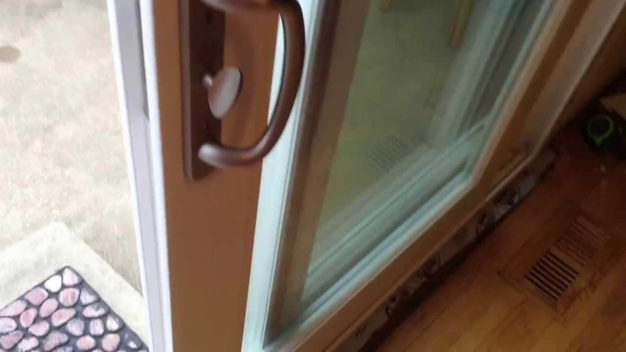 MasterPiece Patio Door from Home Depot - YouTube
