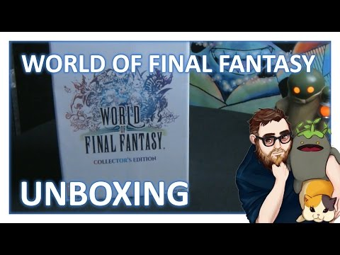 World of Final Fantasy Collector's Edition Unboxing with Art Book Preview