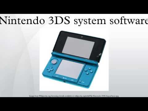 Nintendo 3DS System Software