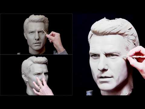 Tom Cruise: How to sculpt a realistic portrait in clay