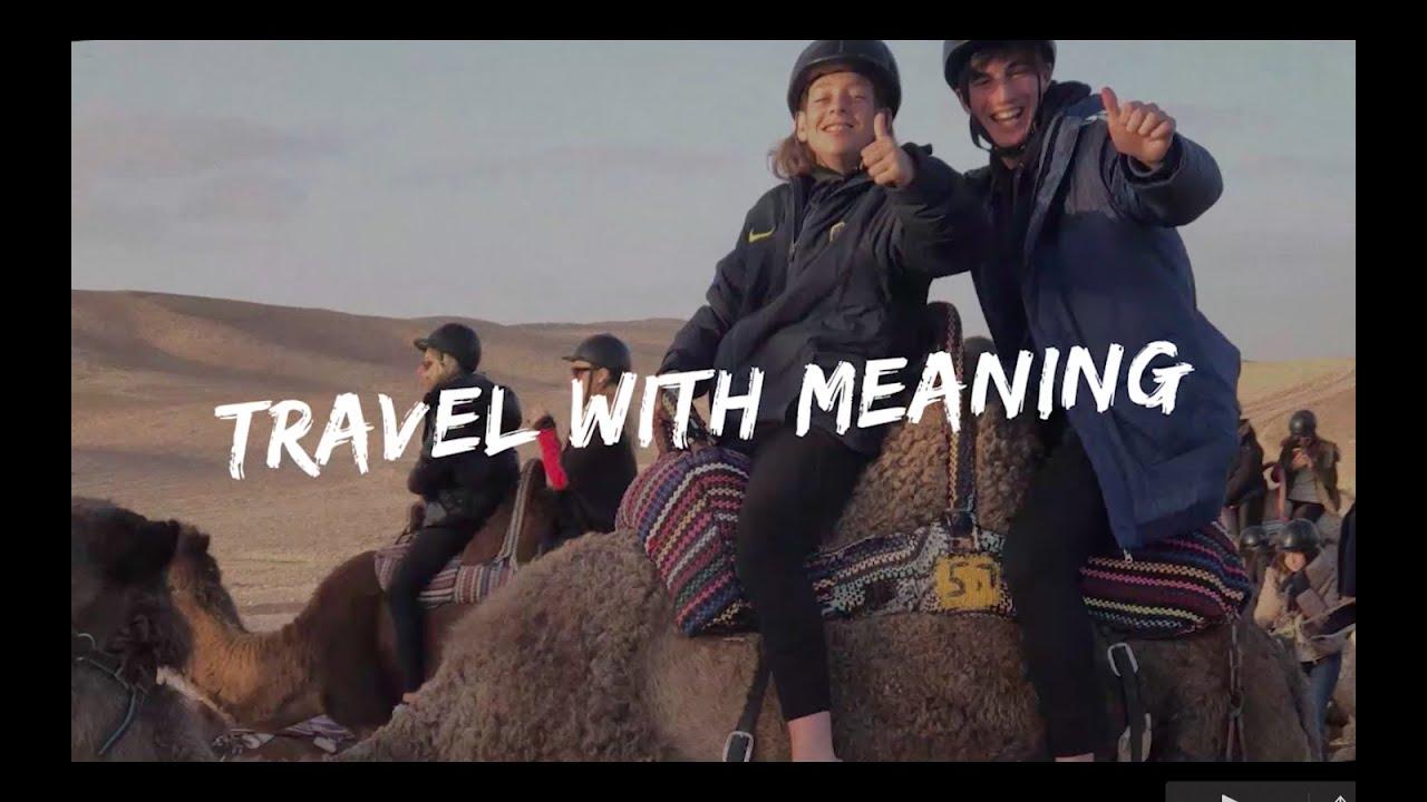 Viajá con Yachad Maccabi #TravelWithMeaning