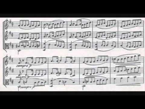 Jan van Gilse - Trio for Flute, Violin and Viola