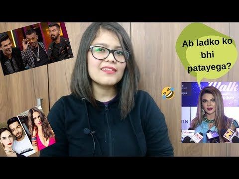 Hardik Pandya (Chugli) | Hardik Pandya in Koffee with Karan Ft Karan Johar (KWK)