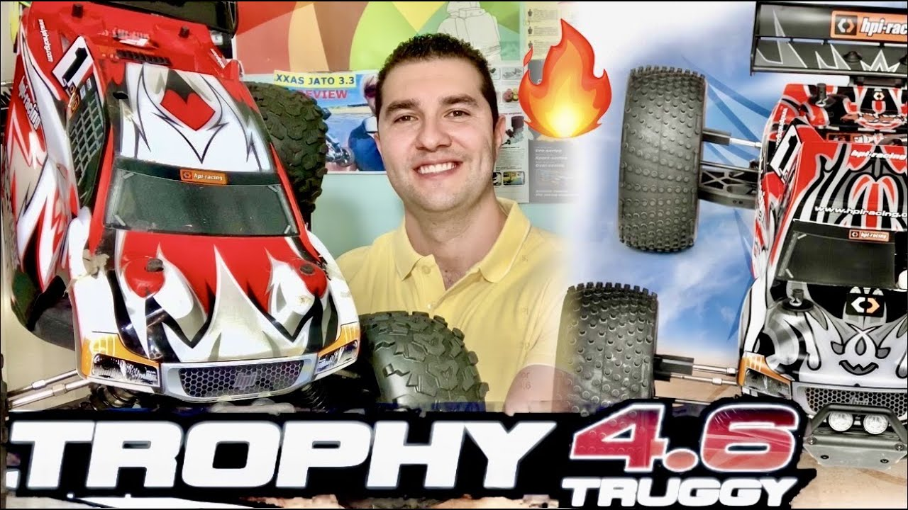 Brand New HPI TROPHY Truggy 4.6🔥 - Nitro Prices Going UP 📈 - It's Got A Savage Motor