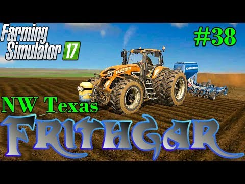 Let's Play Farming Simulator 2017, North West Texas #38: Hitting The Barley Planting!