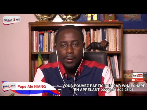 Diffusion en direct de Dakar Matin