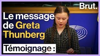 Parlement européen : Greta Thunberg alerte sur l'urgence climatique