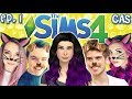 The Sims 4: Raising YouTubers as PETS - Ep 1 (CAS & House Tour | Cats & Dogs Expansion)
