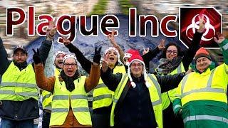 LES GILETS JAUNES ENVAHISSENT LE MONDE !! (Plague Inc: Evolved)