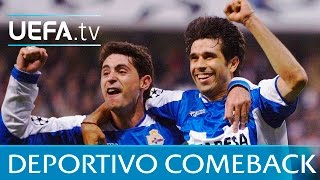 Highlights: Deportivo come back from 4-1 down to win against Milan
