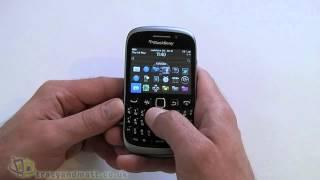 BlackBerry Curve 9320 hands-on demo video