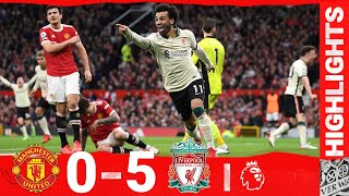 Highlights: Manchester United 0-5 Liverpool | Salah hat-trick stuns Old Trafford