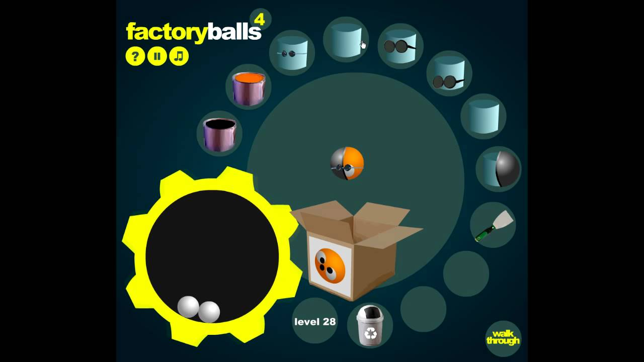 Factory ball 4 - Level 21 to 30 walkthrough - YouTube
