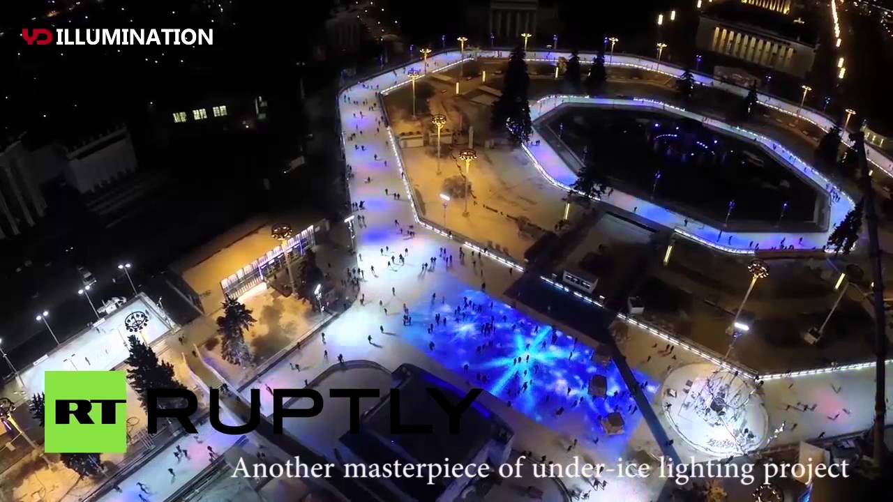 russia vuitton han park biggest outdoor ice rink in the world