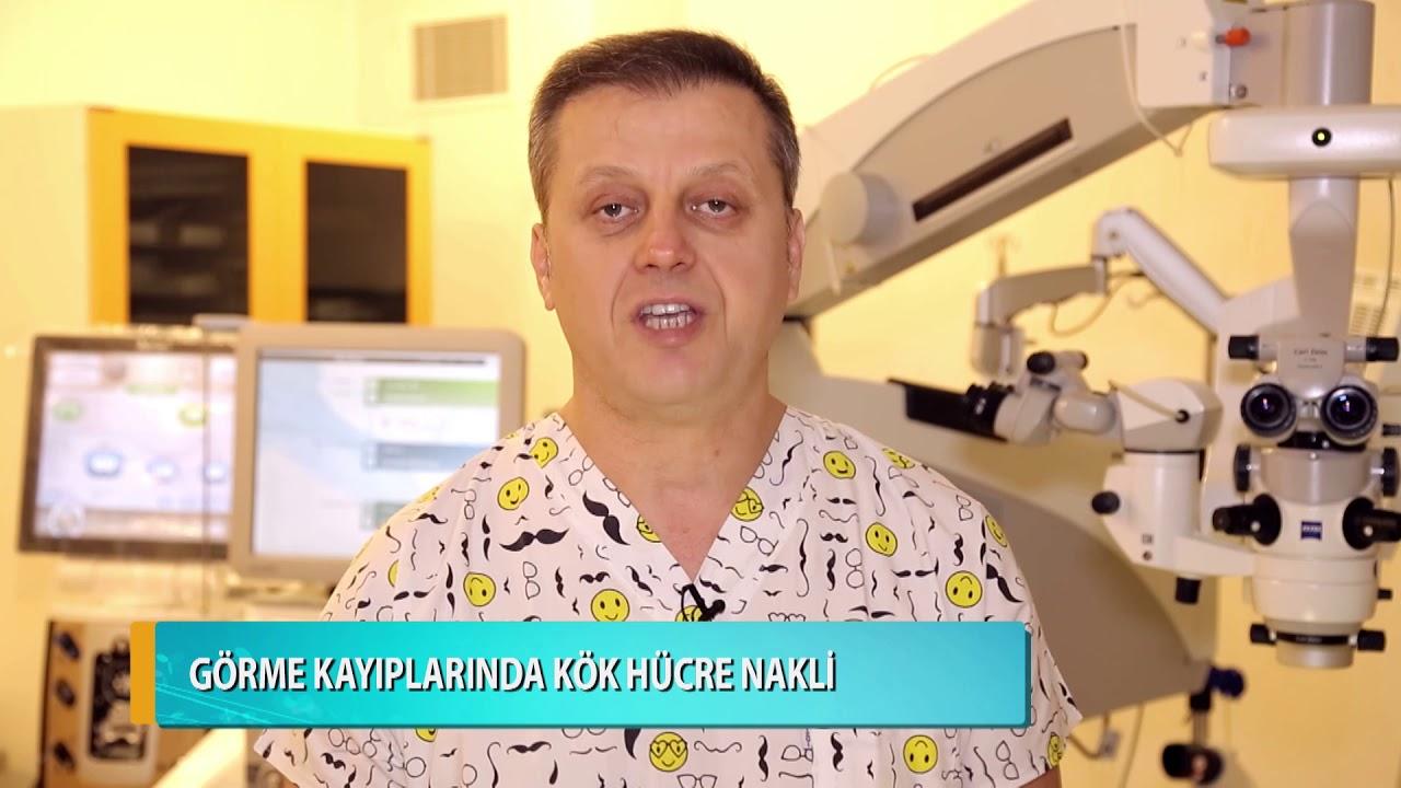 Görme kayıplarında kök hücre nakli nasıl bir yöntemdir, kimlere önerilir? Doç. Dr. Levent Akçay