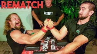 ARM WRESTLING REVENGE VS. RUSSIAN ft. Devon Larratt