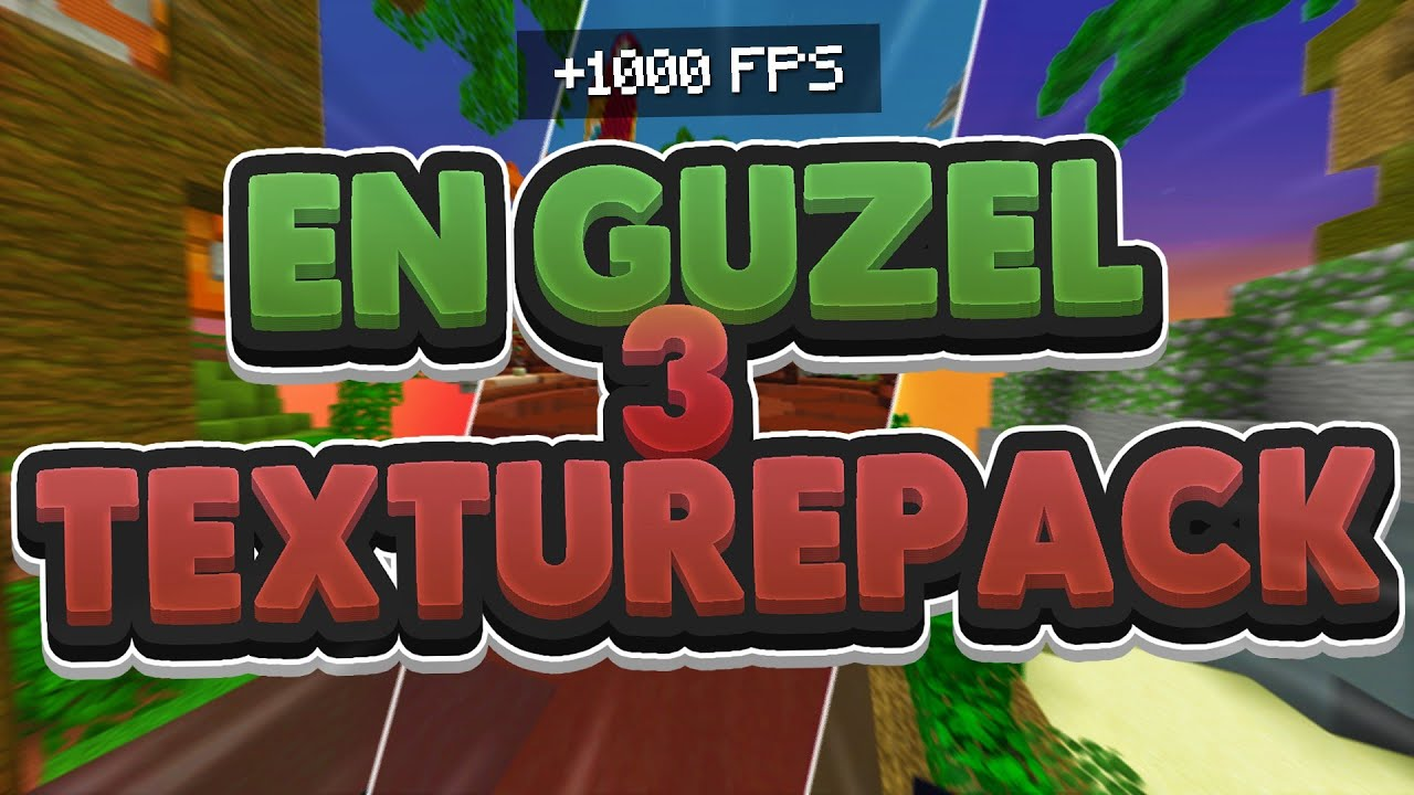 EN GÜZEL 3 TEXTURE PACK! minecraft craftrise skywars