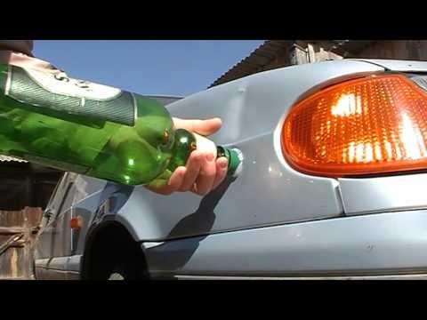 Как убрать вмятину на кузове (ВАЗ 2115)
