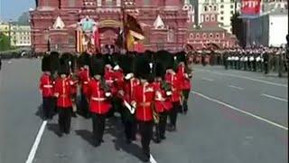 Парад НАТО на красной площади в Москве 2010 г.