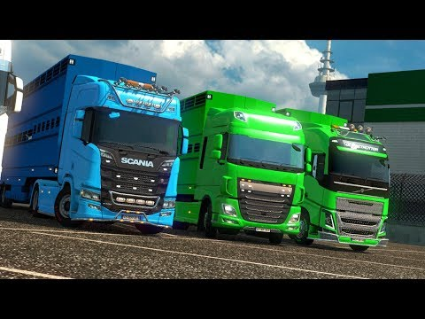 Convoy Warna-Warni ETS2MPI Online Indonesia [✔️LIVE]