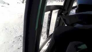 Helivlucht Alta Badia januari 2013