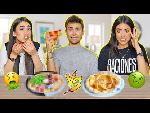 PIZZA CHALLENGE CON LE MIE SORELLE | GIANMARCO ZAGATO