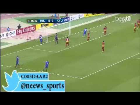 اهداف شاهد مباراة الهلال السعودى و فولاذ 2-0 || دورى ابطال اسيا 8-4-2015