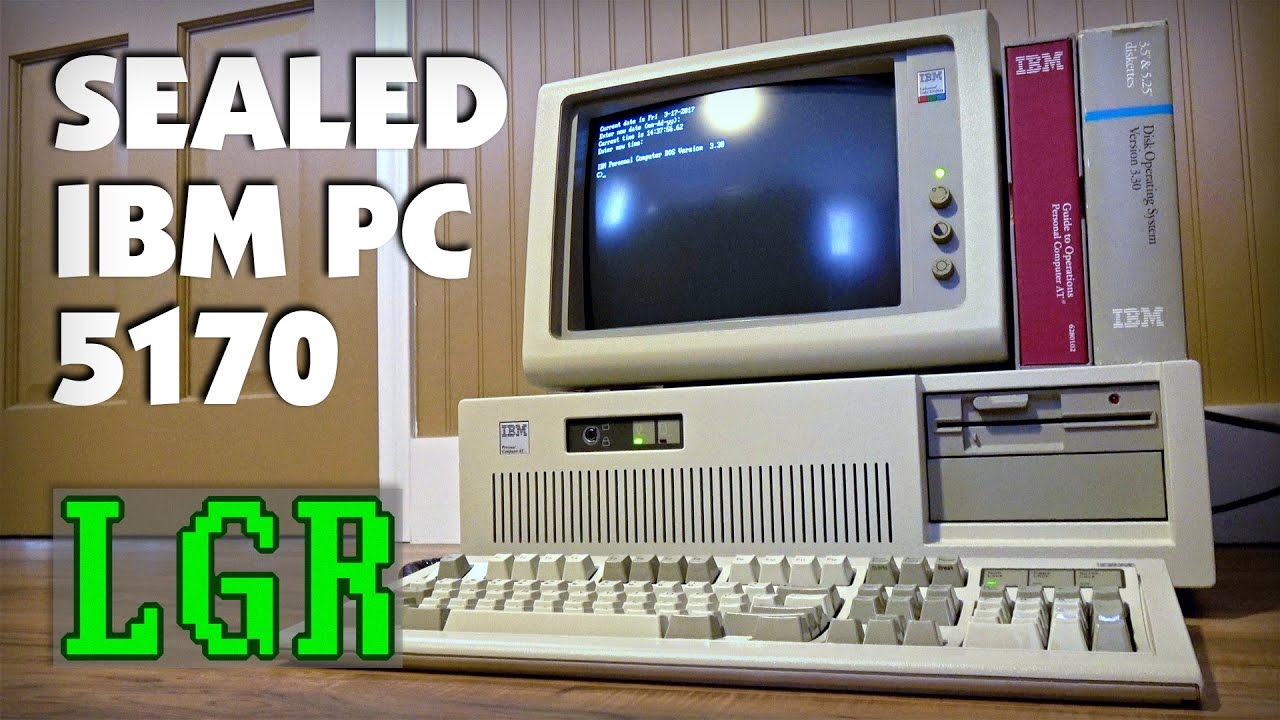 Brand NEW IBM PC AT + Model M! Unboxing & Setup [LGR]