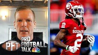 Chris Simms defends 2020 NFL Draft WR rankings   Pro Football Talk   NBC Sports