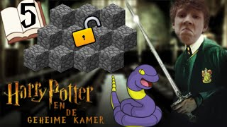 Harry Potter en de geheime kamer Playthrough Deel 5 - Harry Minecraft en de cobblestone kamer