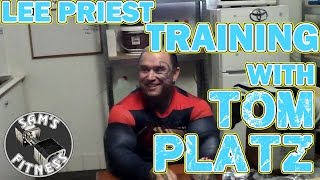 LEE PRIEST and Training with TOM PLATZ