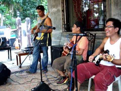 Bohol 2010 - Working Man Rehearsal
