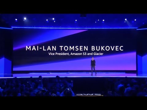 AWS re:Invent 2018 – Building for Durability in Amazon S3 and Glacier with Mai-Lan Tomsen Bukovec