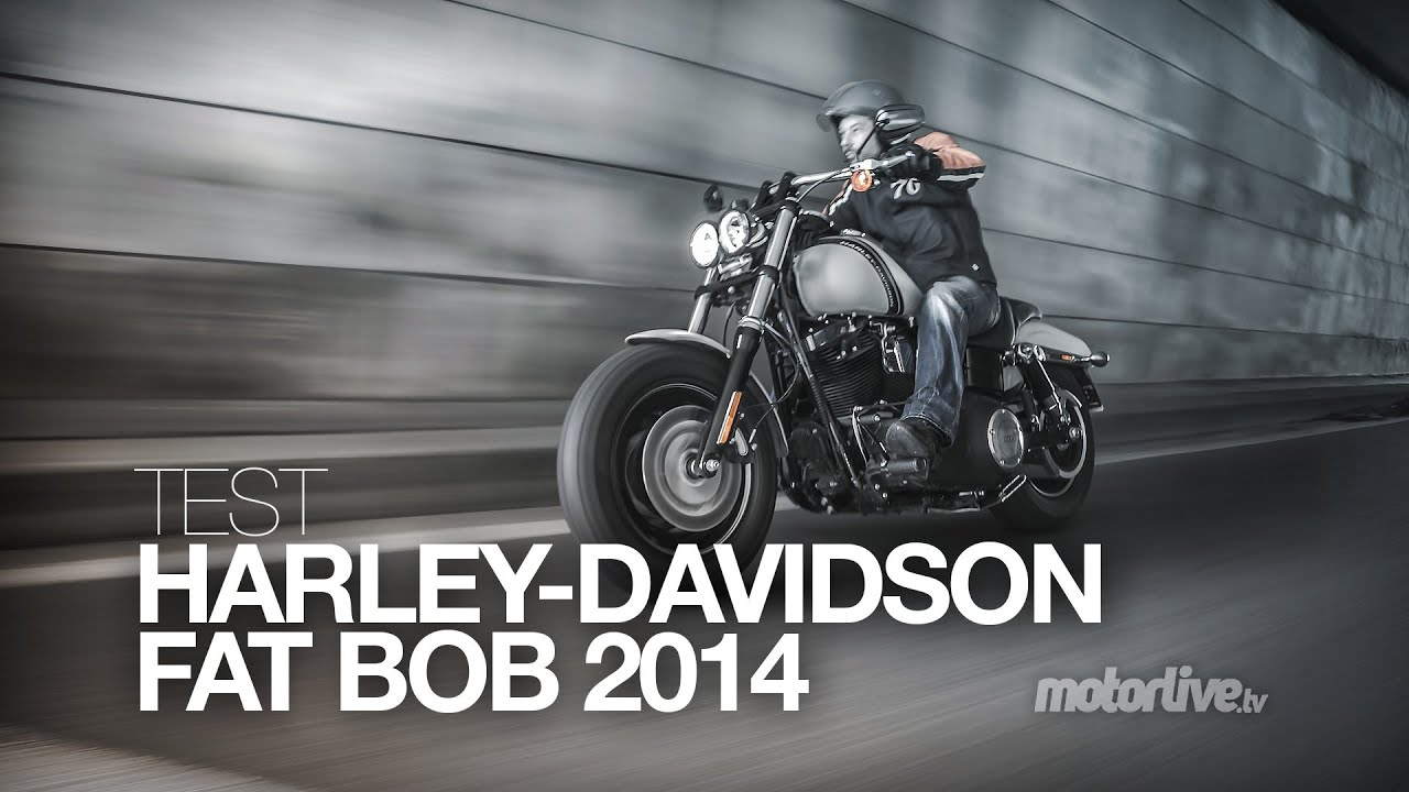 Harley Fat Bob 2014