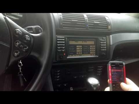 BMW e39 Music play via Bluetooth
