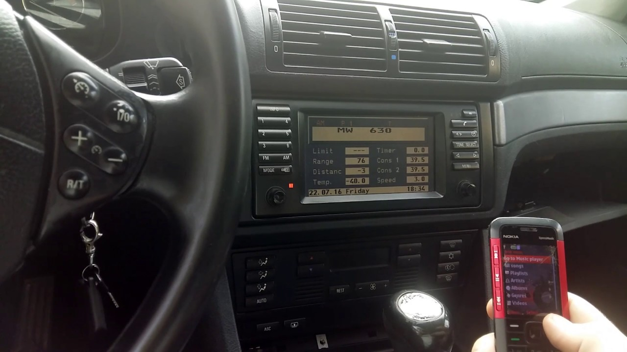 BMW e39 Music play via Bluetooth